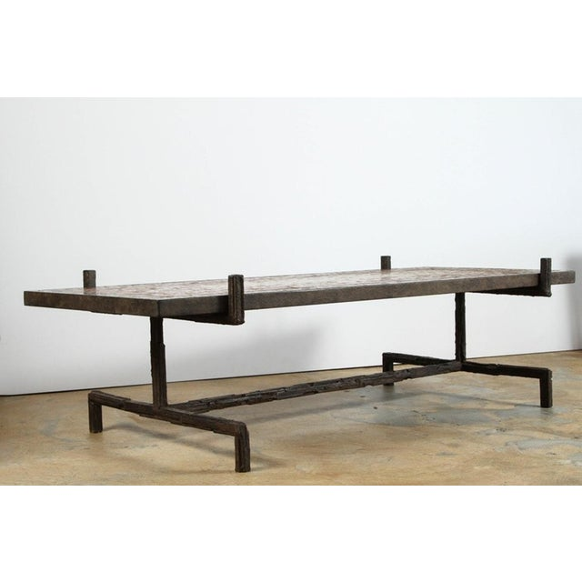 Image of Paul Marra Brutalist Cocktail Table