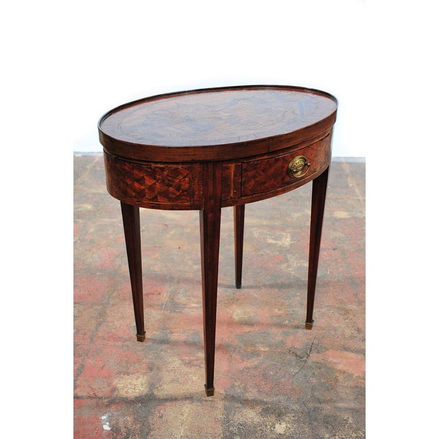 18th Century Oval Revolving Game Table - Image 2 of 10