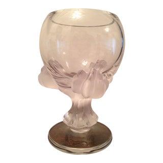 """Vintage Lalique """"Bagheera"""" Claw Vase"""
