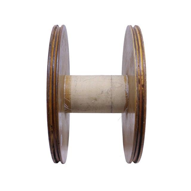 Image of Vintage Blonde Wood Spool
