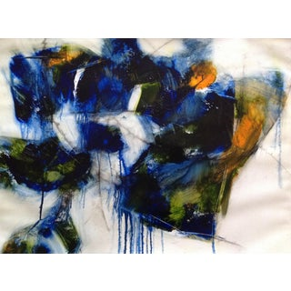 Threats and Admonitions Oil & Charcoal Painting