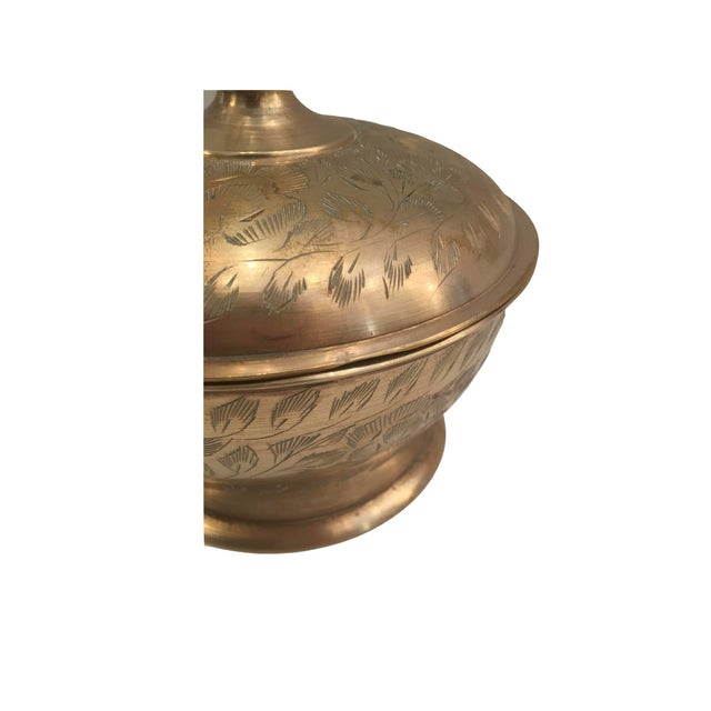 Image of Vintage Brass Container
