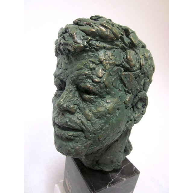 Image of John F Kennedy Marble Bust