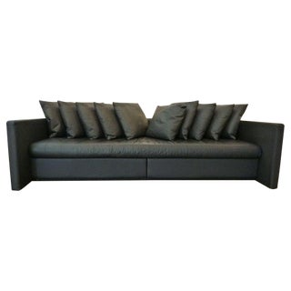 Leather Sofa Designed by Joe D'urso for Knoll