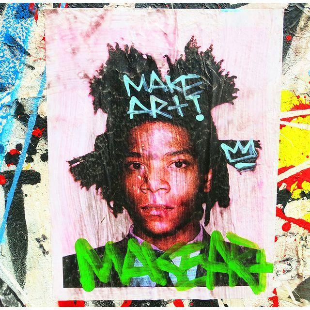 Image of Original New York Street Photo: Basquiat