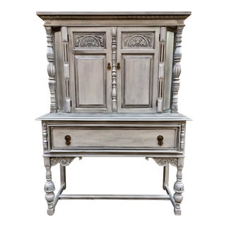 Antique Jacobean Style Hutch