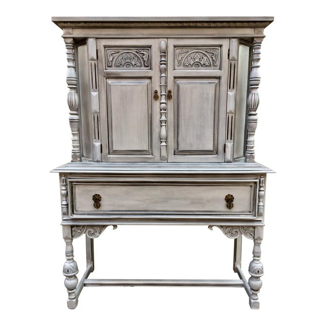 Antique Jacobean Style Hutch - Image 1 of 5