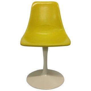 Saarinen-Style Fiberglass Tulip Chair
