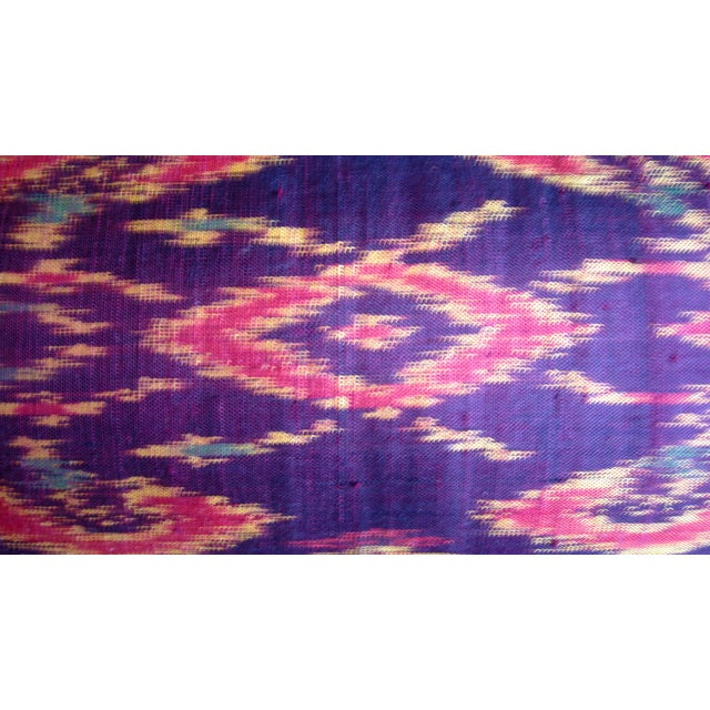 Silk Ikat Bolster - Image 6 of 6