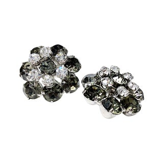 Juliana Smoky Rhinestones Earrings
