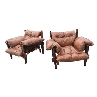 Sergio Rodrigues Moleca Chairs - Pair