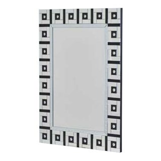 Modern Design 2 Tone Wall Mirror