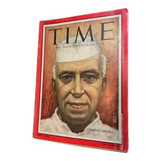 1956 Time Magazine Nehru Cover