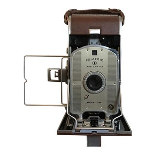 Vintage Polaroid Model 95a Bellows Land Camera