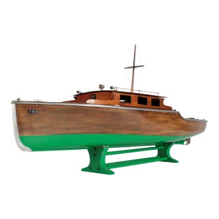 1940s Steam Powered Wooden Boat