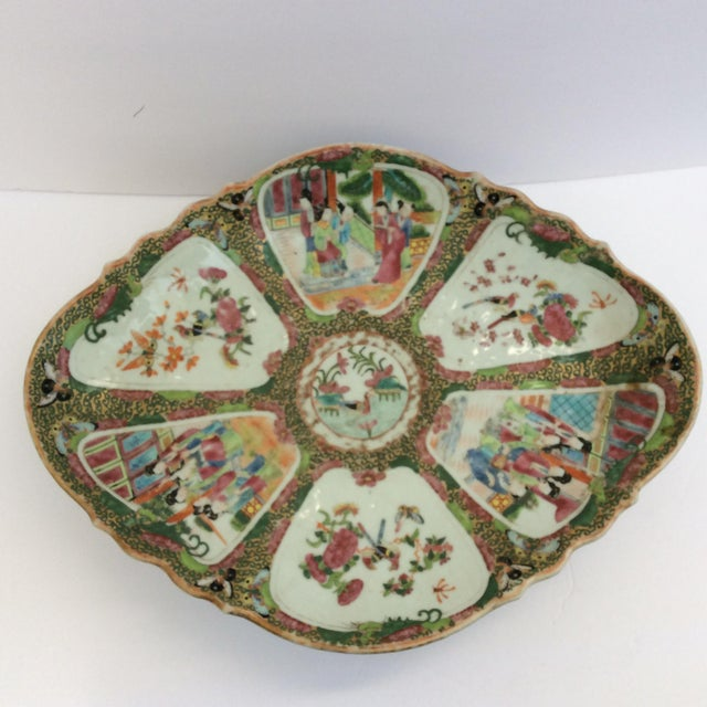 Chinese Canton Famille Rose Serving Platter - Image 9 of 11