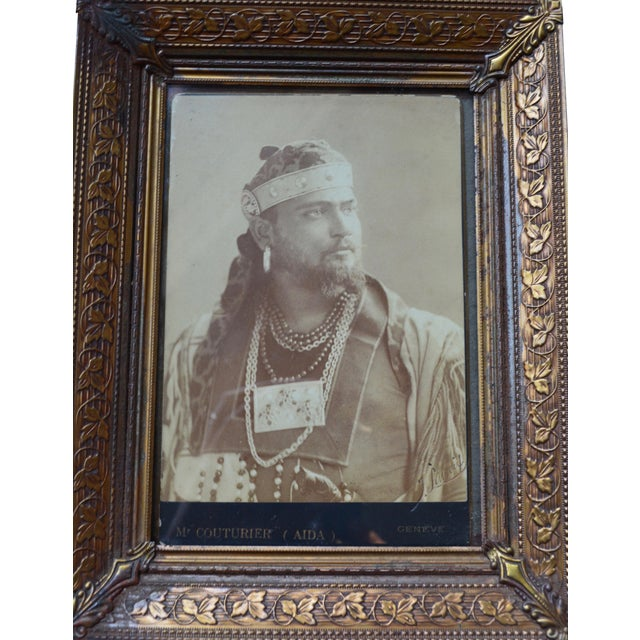 Antique Theater Actor Photograph - Image 1 of 6