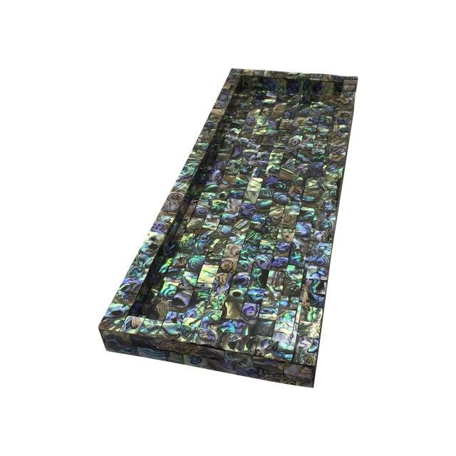 Abalone Mosaic Tray - Image 1 of 5