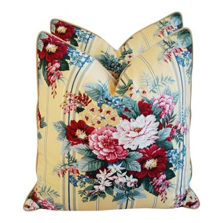Ralph Lauren Floral Bouquet Pillows - A Pair