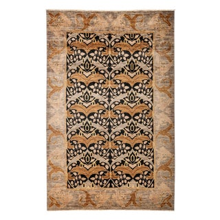 """Arts & Crafts Style Hand Knotted Area Rug - 5'2"""" X 7'10"""""""