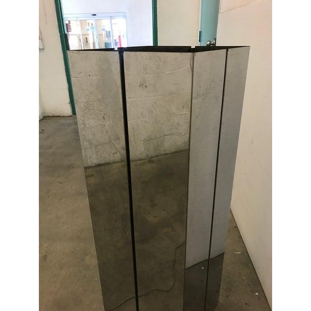 Image of Pace Contemporary Chrome Pedestal