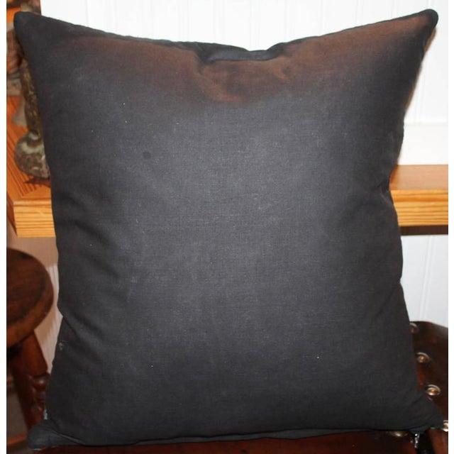 Amazing Early Geometric Navajo Eye Dazzler Pillow - Image 2 of 2