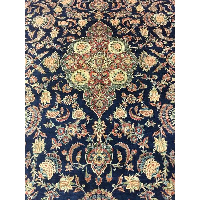 "Vintage Turkish Wool Rug - 8'10"" x 12'5"" - Image 4 of 6"