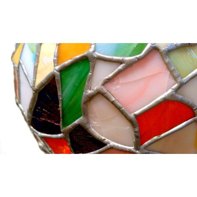 Mid-Century Mosaic Globe Pendant Lamp - Image 7 of 8