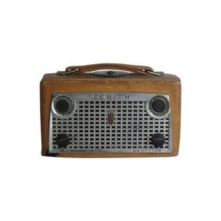 Leather Zenith Navigator Radio