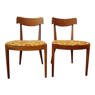 Kipp Stewart for Drexel Dining Chairs - A Pair