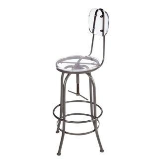 Acrylic Adjustable Counter Bar Chair