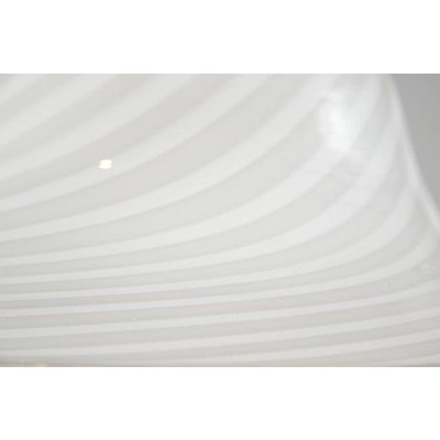 Murano Swirl Glass Dome Pendant Light - Image 7 of 9