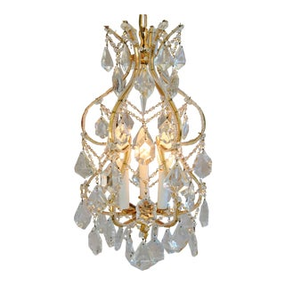 Hollywood Glam French Style Crystal Chandelier