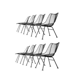 Russell Woodard Sculptura Low Scoop Chairs
