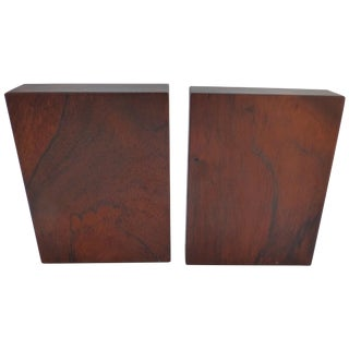 Danish Modern Rosewood Bookends - a Pair
