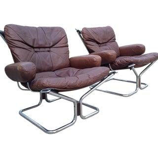 Ingmar Relling for Westnofa Lounge Chairs - Pair