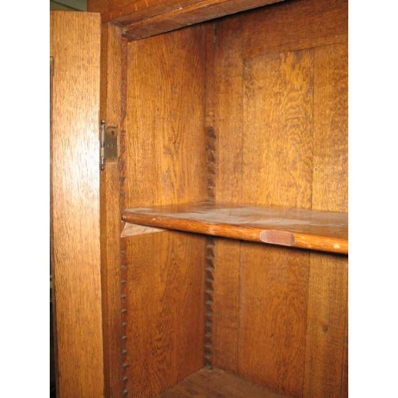 Antique American Oak Bookcase - Image 4 of 7