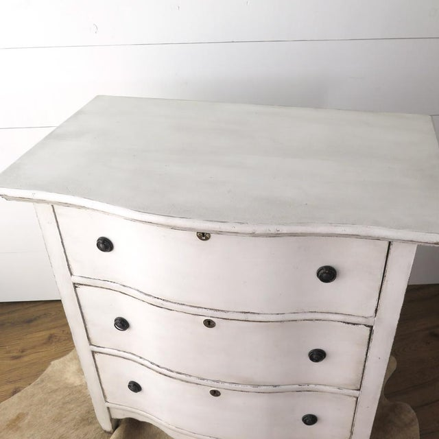 Antique White Painted Chest - Image 6 of 11