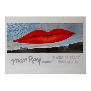 Vintage Poster Lithograph - Man Ray