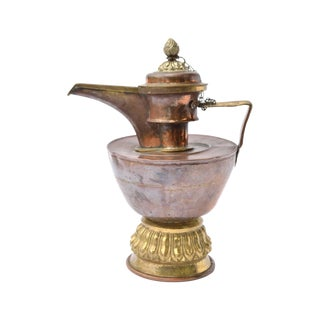 Antique Copper & Brass Ewer