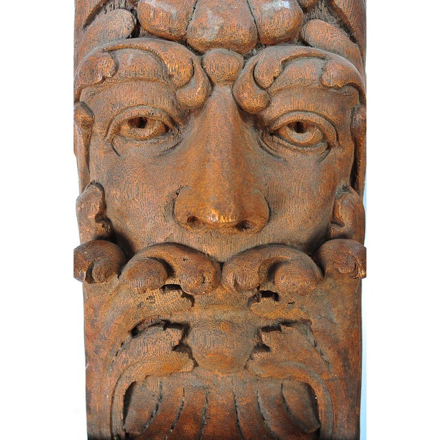 Terracotta Knights Heads - Set of 6 Corbels - Image 3 of 8
