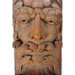 Image of Terracotta Knights Heads - Set of 6 Corbels