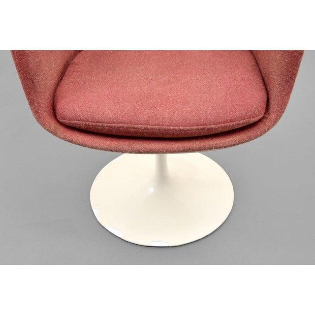 Eero Saarinen for Knoll Inc Tulip Arm Chairs, Set of 4 - Image 4 of 9