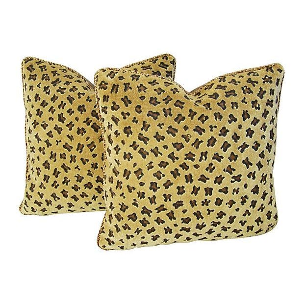 Rogers & Goffigon Gattopardo Pillows - A Pair - Image 1 of 8