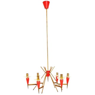 Italian Chandelier Sputnik Style
