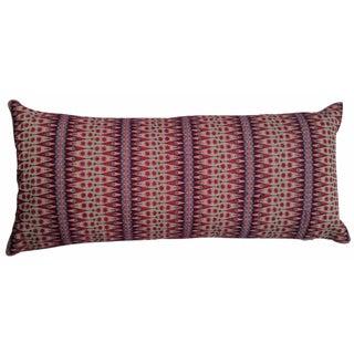 Audrey Fit Lumbar Embroidered Pillow