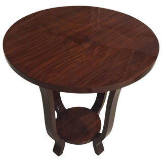 French Art Deco Accent Table
