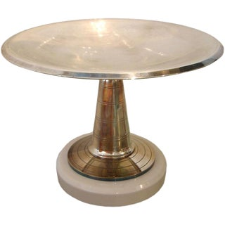 French Art Deco Pedestal Dish/ Bowl/ Vessel