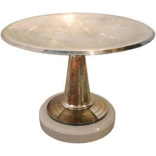 French Art Deco Pedestal Dish/ Bowl/ Vessel