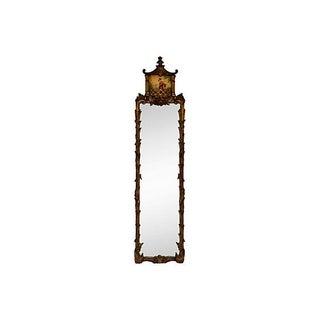 Chinese Chippendale-Style Pagoda Mirror